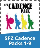 SFZ Cadence Packs
