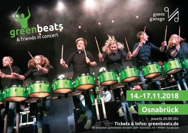 Ticket | greenbeats & friends | 14.11.2018 | Stehplatz