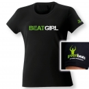 Beatgirl-Shirt | Damen-Shirt greenbeats